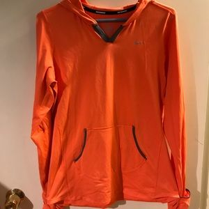 Nike Dri fit long sleeved running shirt